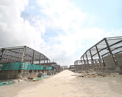 连杭产业园一期钢结构 项目
