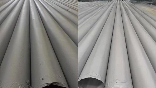 盛虹石化钢管除锈防腐
