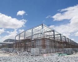 连杭产业园   一期钢结构项目